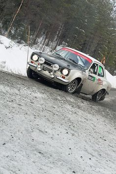 Ford Escort WRC - rally show!