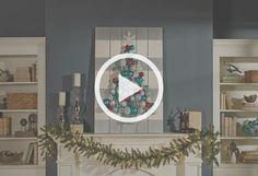 Christmas Tree Holiday Pallet Decoration