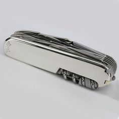 1stdibs | Tiffany & Co Silver and 18K Gold Swiss Army Knife - Swiss Champ