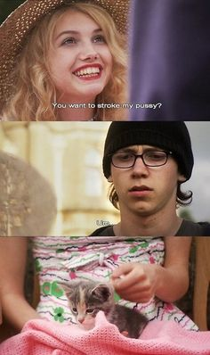 Cassie + Sid (Skins - Series 1 & 2) Hannah Murray and Mike Bailey