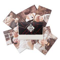 Official BTS 2nd Muster Zip Code 22920 Photo Card Set – Bangtan Boys Goods