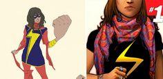 Marvel anuncia sua nova heroína: uma adolescente muçulmana