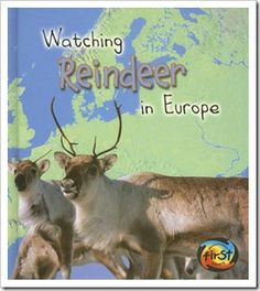 Watching Reindeer in Europe; Talk about Table of contents, index, vocabulary etc. Reindeer Facts, Reindeer Food, Kindergarten Vocabulary, A Christmas Story, Christmas Themes, Christmas Fun, First Grade Parade, Holidays Around The World, Animal Books