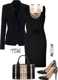 Have the jacket, similar dress and similar shoes...need to find a good statement necklace