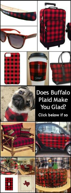 More fun buffalo plaid pics. Find out in the Rustic Artistry newsletter. Buffalo Print, Buffalo Plaid, Buffalo Check, Tartan Plaid, Plaid Flannel, Outlander, My Favorite Color, My Favorite Things, Plaid Decor