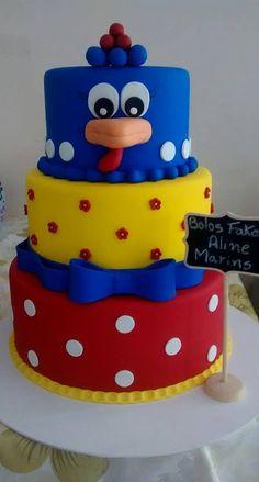 Bolo Fake, Leo, Birthday Cake, Desserts, Hens, Second Best, Crafts, Fake Cake, Lion