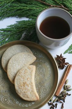 Chai Spiced Shortbread