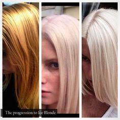 Frozen-Inspired Ice Blonde   Modern Salon