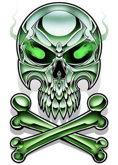 Chrome Temporary Tattoos METAL! This killer line of temporary tattoos was illustrated to look like everything is chromed out. These metal beasts and skulls will keep your skin looking like polished chrome! Series of 12 Tattoo designs includes: - Bat Skull - Double Skull - Dragon - Green Skull - Koi - Lion - Pitbull - Rhino - Sacred Heart - Snake - Spider - Wolf $10 for Series of 12 Temporary Tattoos Includes shipping and handling within the U.S.A. Add $2 for international shipping per order…