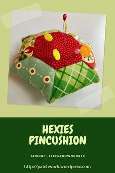 Video tutorial: Hexies pincushion – English Paper Piecing (EPP)