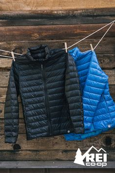 Help craft the perfect warmth. The REI Co-Op Down Jacket is a versatile piece of gear for a range of temperatures and activities. Down insulation and weather-resistant nylon join forces to help keep you warm. More colors in men and women styles on www.rei.com.