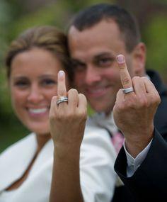funny wedding ring photoq