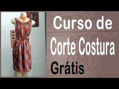 Corte e Costura passo-a-passo Vestido Fácil de Fazer - Vestido com Elástico - YouTube