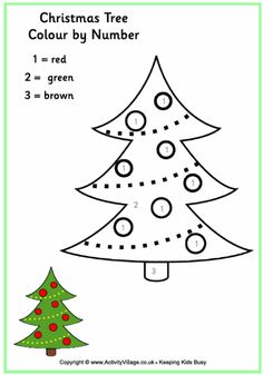 Here's a big and simple Christmas tree colouring page for younger kids. Why not add some glitter, beads or sequins when you have finished colouring it in, to make it extra sparkly? Colorful Christmas Tree, Christmas Colors, Simple Christmas, Kids Christmas, Christmas Carnival, Christmas Templates, Christmas Clipart, Christmas Printables, Merry Christmas Coloring Pages
