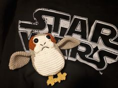 Porg from Star Wars - free crochet pattern.