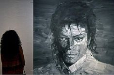 نمایشگاه هنری «مایکل جکسون» در لندن