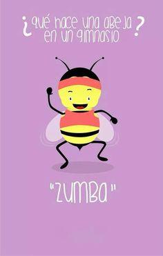 Zumba // jajajaj muy chistonto pero me encantó =P