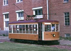 """9. Birney Safety Streetcar No. 224: Located in in Fort Smith, Arkansas, and listed on the U.S. National Register of Historic Places, this streetcar was built in 1926 by the American Car Company. It is a type of streetcar known as a Birney """"Safety Car""""."""