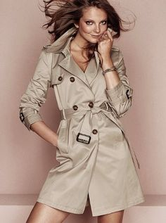 trench coat by stupid cupid
