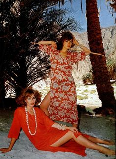 L'officiel Magazine 1970 Photo by Rodolphe Haussaire Seventies Fashion, 70s Fashion, Fashion History, Vintage Fashion, Caftan Dress, Fashion Images, Old Photos, Spring Summer Fashion, Glamour