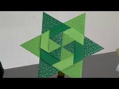 Origami: Estrella de Seis Puntas - Hogar Tv por Juan Gonzalo Angel - YouTube