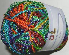 Hilado de Bree lujo Boucle color 704 brillante por JuliaLCraft