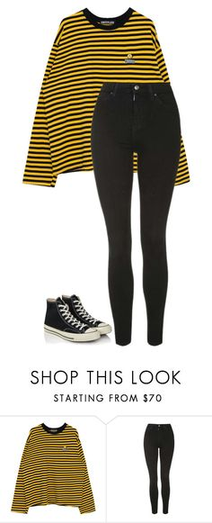 """""""Untitled #169"""" by i0119 on Polyvore featuring Topshop and Converse"""