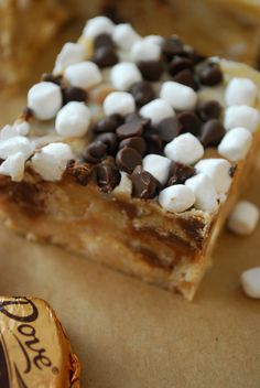 No-Bake S'Mores Bars from The Domestic Rebel