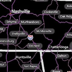 Knoxville TN Interactive Weather Radar Map AccuWeathercom