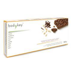 Bestellnummer: 116664. bodykey™  Riegel Schokoladengeschmack. zur Unterstützung Ihres individuellen Programms zur Gewichtsreduktion. Diese Mahlzeit ist für eine ausgewogene Ernährung/Versorgung mit Makromährstoffen zugeschnitten.