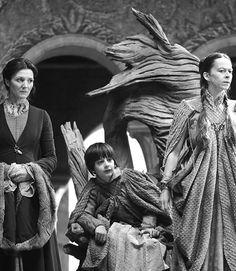 # CATELYN STARK, LYSA ARRYN AND HER SON ROBIN