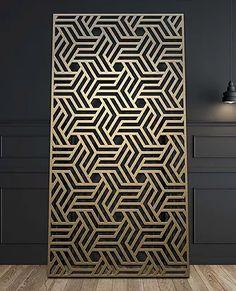 Decorative Metal Wall Panels modern decorative metal column/ perforated metal screen/metal wall
