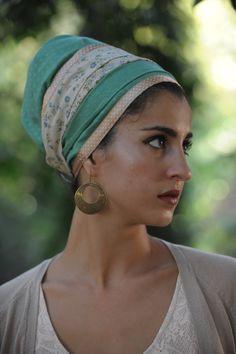 Emerald Sinar Tichel hair covering... DEFIANCE