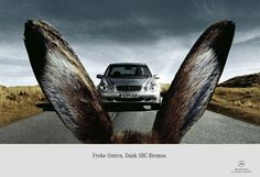 mercedes-easter | #easter #egg #ads #marketing #werbung #print #poster #advertising #campaign < found on www.adrianlinks.com pinned by www.BlickeDeeler.de