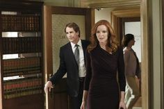 Still of Scott Bakula and Marcia Cross in Desperate Housewives (2004)