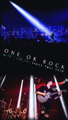 One Ok Rock, Visual Kei, Music Stuff, Orchestra, Entertainment, Tours, Japan, Wallpaper, Celebrities
