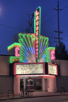 Laurelhurst Theater, just a 10-block walk from home. Near the Whole Foods on East Burnside where I like to eat from the sandwich and salad bar before viewing my movie of choice, whether it is vintage or current.