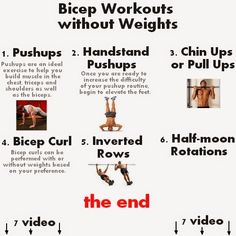 Back biceps workout routine - Bicep Workouts without Weights video tricep and bicep exercises without weights Bicep Exercises Without Weights Bicep workouts without weights can help create a routine that will allow you to exercise at home or places bac Bicep Workout Routine, Dumbbell Bicep Workout, Biceps Workout At Home, Bicep Workout Women, Back And Bicep Workout, Bicep And Tricep Workout, Home Workout Men, Back And Biceps, Bicep Workout Without Equipment
