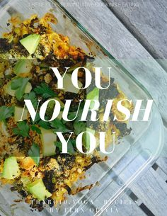 YOU NOURISH YOU: Thyroid Yoga Recipe Book - INSTANT DOWNLOAD