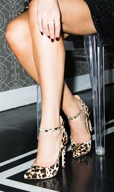Leopard Print Heels http://aguidetowhatsinsideyourbeautybag.blogspot.com/2014/03/influensters-univoxbox-2014.html