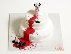 Scheidungs Torte Micky Maus