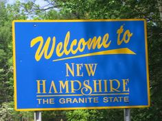 Here are the top ten reasons why New Hampshire is the best place in all 50 states. (Don't be silly, of course New Hampshire is in the United States! It's located between Vermont and Maine) Hampshire House, New Hampshire, Granite State, Citizens United, Live Free Or Die, New England States, U.s. States, United States, Health Education
