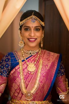 South Indian Bridal Shower Look