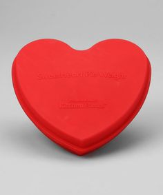 Heart shaped cake pan for someone special.