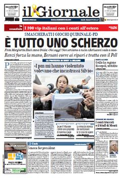 Il Giornale - 2013/04/05 Italiano | True PDF | 32 Pages | 15 MB