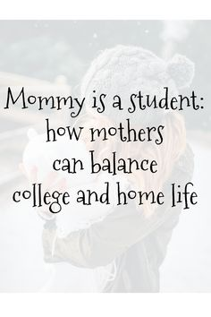 How mothers can balance college and home life Mommy is a student: how mothers can balance college and home life. Both motherhood and education are full-time commitments. via November Sunflower - College Scholarships Tips College Mom, Grants For College, Financial Aid For College, Online College, College Hacks, Scholarships For College, Education College, College Students, School Scholarship