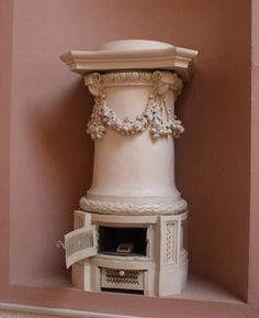 Classical style stove designed by James Wyatt, c.1790at the aptly name Castle Coole, Enniskillen, Northern Ireland (Photo by Ian West, University of Leicester)