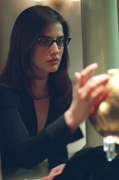 Cobie Smulders ; when eye glasses are better being on