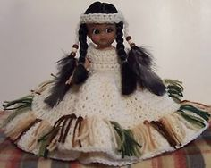 Crochet Indian Doll Decoration by Linda Weddle