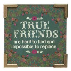Corner Mag True Friends Green Flrl by natural life
